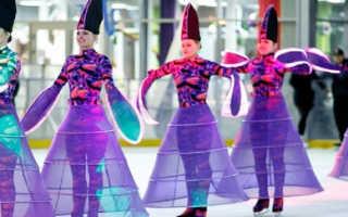 Каток олимпийский открытие. Парк «Красная Пресня»