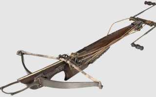 Что такое арбалет определение по истории. Арбалет: самое технологичное оружие Средневековья