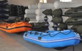 Классификация подводных лодок и организация их соединений. Виды надувных лодок