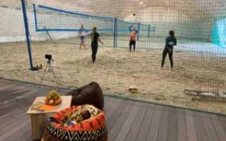 Секции волейбола для подростков.