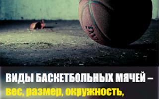 До какого давления качать баскетбольный мяч. Баскетбольный мяч – каким он должен быть