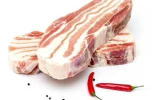 Рецепты засолки корейки из свинины. Засолка грудинки в домашних условиях: особенности выбора продукта и приготовления