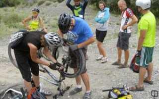 Как заклеить колесо велосипеда супер клеем. Какой разрыв является для камеры самым «трагичным»? Как решить проблему быстро без клея