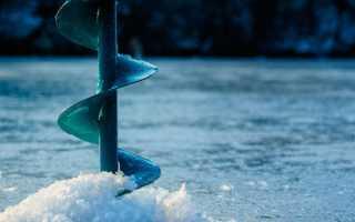 Безопасная толщина льда.