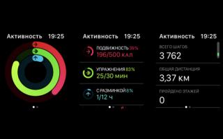 Как пользоваться активностью на apple watch. Полная настройка активности на Apple Watch