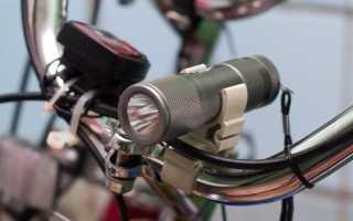 Самый лучший фонарь для велосипеда. Фонарь для велосипеда