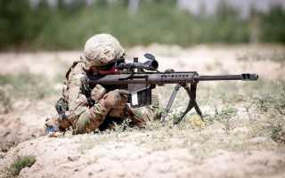 Красивые снайперские винтовки. Самые дальнобойные винтовки в мире