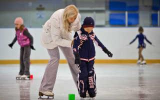 Занятия по фигурному катанию для детей. Секция детского фигурного катания «Ледовые Мечты»