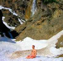 Практика тумо тибетских монахов. Йога Туммо — идеальная практика для наших широт
