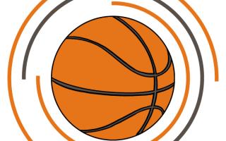 Как рисовать баскетбольный мяч. Нарисовать баскетбольный мяч очень легко