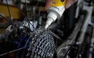 Можно ли смазать велосипедную цепь силиконовой смазкой. Как правильно смазывать горный велосипед? Как часто смазывают амортизаторы