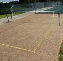 Размер волейбольной площадки на улице. Схема волейбольной площадки