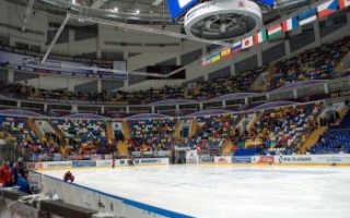 Хоккейный дворец. Самые большие хоккейные арены