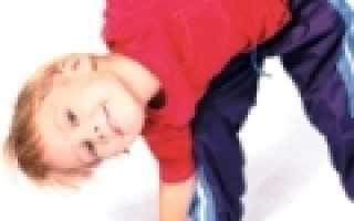 Гимнастика для детей от 3. Упражнение «Как пружинка»