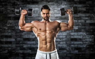 Комплекс упражнений для качания мышц дома. Как накачать мышцы быстро и правильно
