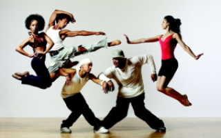 Акробатические трюки в танце. Условия и инвентарь
