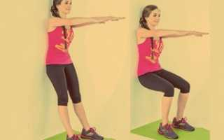 Для чего нужно упражнение стульчик. «стульчик» — упражнение для домашней тренировки