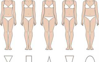 Исправляем т-образную фигуру. Типы фигур у женщин: учимся определять, подбираем диету и гардероб