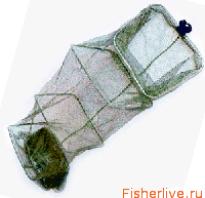 Садок для ловли рыбы. Садок для рыбы — советы по выбору и его изготовлению своими руками