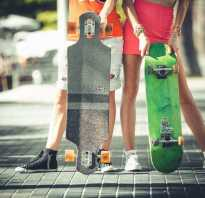 Чем отличается скейтборд от лонгборда и круизера. Подробно о том, чем отличается лонгборд от скейтборда