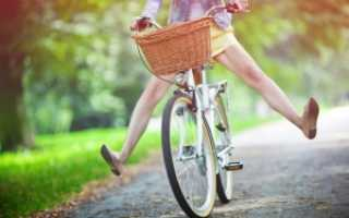 Езда на велосипеде и польза для фигуры. Можно ли взрослому научиться кататься на велосипеде: техника обучения