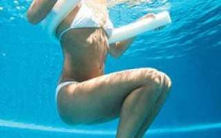 Упражнения для аквааэробики в бассейне. Сколько калорий сжигается при аквааэробике