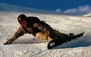Правила езды на сноуборде для начинающих. Перекантовка на сноуборде