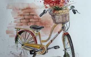 Как нарисовать скоростной велосипед. Как нарисовать велосипед карандашом поэтапно