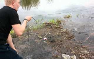 Рыболовная сеть на резинке. Ловля рыбы сетями дорожка