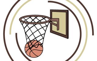 Как нарисовать баскетбольное кольцо поэтапно. Нарисовать баскетбольный мяч очень легко