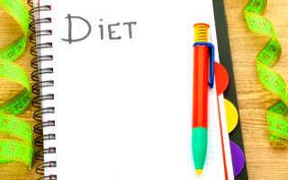 Меню строгой диеты. Самая строгая диета для сильных духом и телом