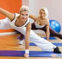 Чем отличается аэробика от фитнеса. Что эффективнее
