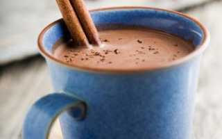 Какао с корицей и имбирем. Рецепт с пошаговым фото