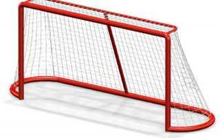Хоккейные ворота своими руками размеры. Хоккейные ворота из пластиковых труб
