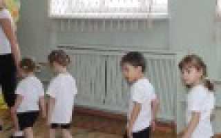 Занятие по физкультуре в младшей группе. Конспект занятия по физкультуре во второй младшей группе