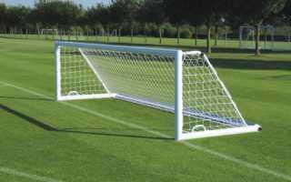 Ширина футбольных ворот на чемпионате мира. Стандарт футбольных ворот