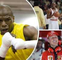 Кто самый высокооплачиваемый спортсмен в мире. Самые богатые спортсмены мира