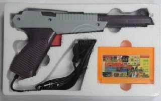 Схема сетевого пистолета от денди. Как работал пистолет в приставке Dendy