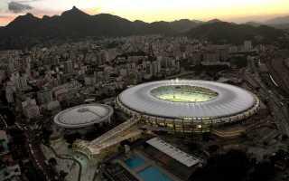 Вместимость мараканы до реконструкции. Стадионы рио-де-жанейро