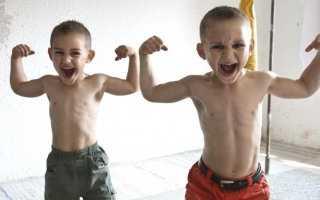 Силовые упражнения детей 8 лет. Силовые упражнения для дошкольников