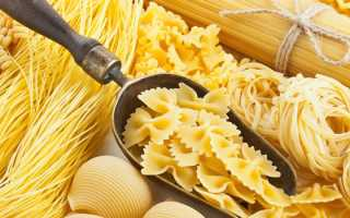 Как приготовить макароны для похудения. Макаронная диета – сытный принцип похудения