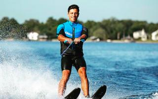 Катание на водных лыжах с парашютом как называется. —То есть, по сути дела, в этот спорт вас привел друг? Какие горные лыжи выбрать для катания на кайте