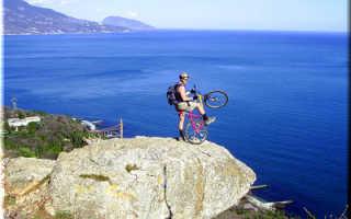 По Крыму на велосипеде — маршруты прогулок и виды. Маршруты для самостоятельных путешествий на горном велосипеде от Симферополя (Жд вокзал, аэропорт)