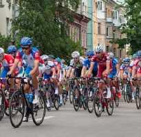 Маршрут кольцевой велосипедной гонки проходит. Кольцевой маршрут