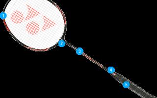 Бадминтонная ракетка в голову нейтральный баланс. Выбираем ракетку и воланы для игры в бадминтон