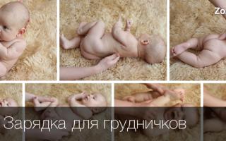 Нужно ли делать зарядку новорожденному. Как заниматься с новорождёнными