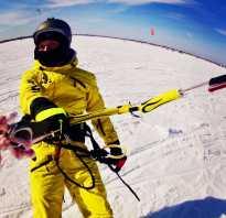 На сноуборде с парашютом по заснеженным просторам. Зимний кайтинг – что это такое