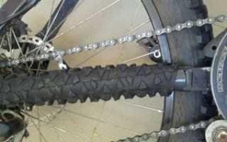 Защита пера от цепи велосипеда. Зачем нужна защита пера и как ее сделать своими руками