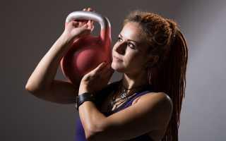 Как накачать мышцы гирей. Упражнения с гирей на плечи, грудь и руки – базовый курс