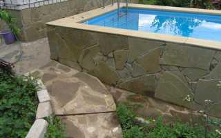 Заливка бассейна. Строительство бассейна из бетона — видео по заливке бетонной чаши